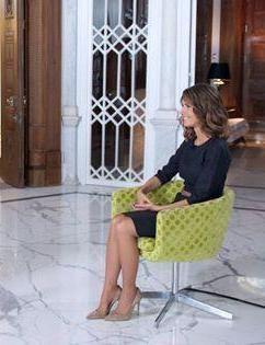 Asma Al Assad Syria S First Lady