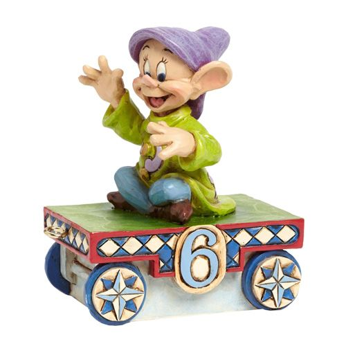 Disney Traditions Snow White Dopey Birthday Train Car 6 ...
