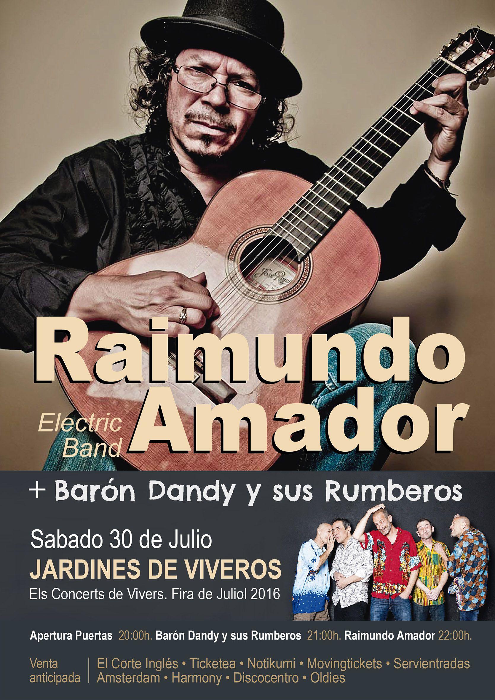 Concierto de Raimundo Amador  en Valencia