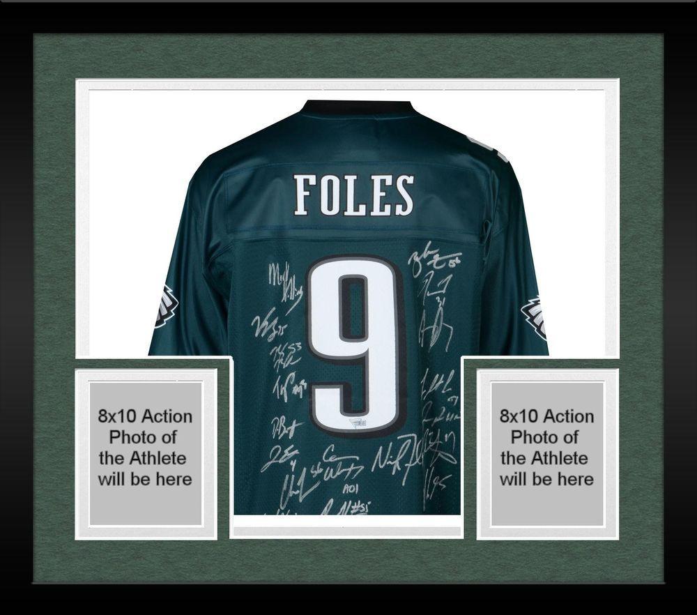 huge discount 04d11 9b9dc Autographed Nick Foles Eagles Jersey Fanatics Authentic COA ...