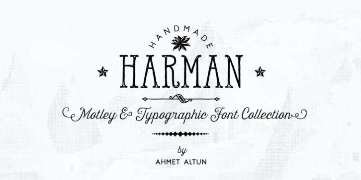 Download Harman Font DOWNLOAD | Typography fonts, Handwritten ...