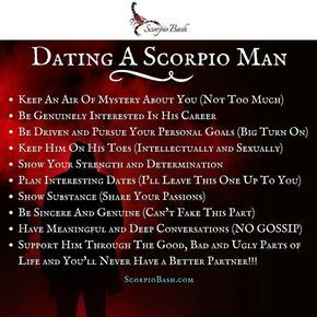 A How To You Interested Scorpio In Get Man the amenities