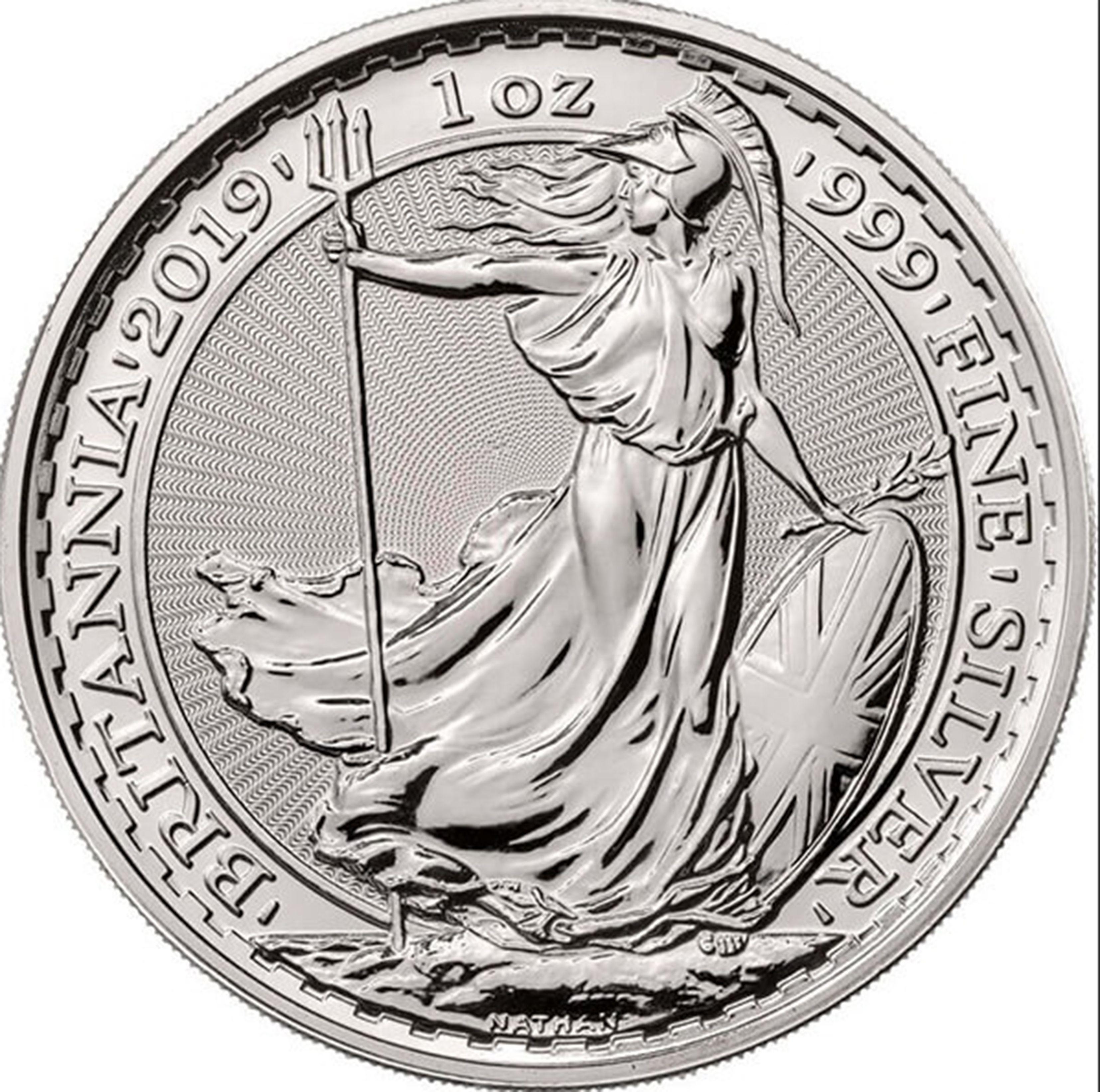 United Kingdom Silver Britannia Coin Silver Bullion Coins Bullion Coins Silver Coins