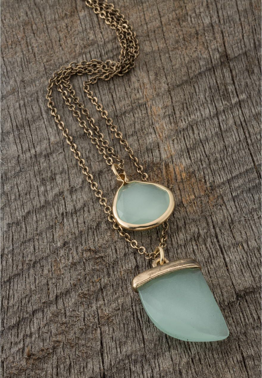 double pendant necklace - Lacey Ryan Collection