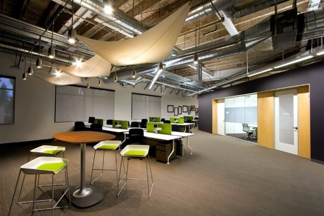 Modern Industrial Office Design Google Search Abm Interior Design Inspiration Pinterest