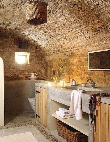 Risultati immagini per lavandini in pietra per cucine in muratura ...
