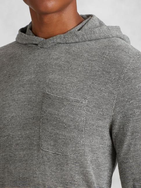 Cotton Pullover Hoodie (John Varvatos Star U.S.A. Spring 2016 ...