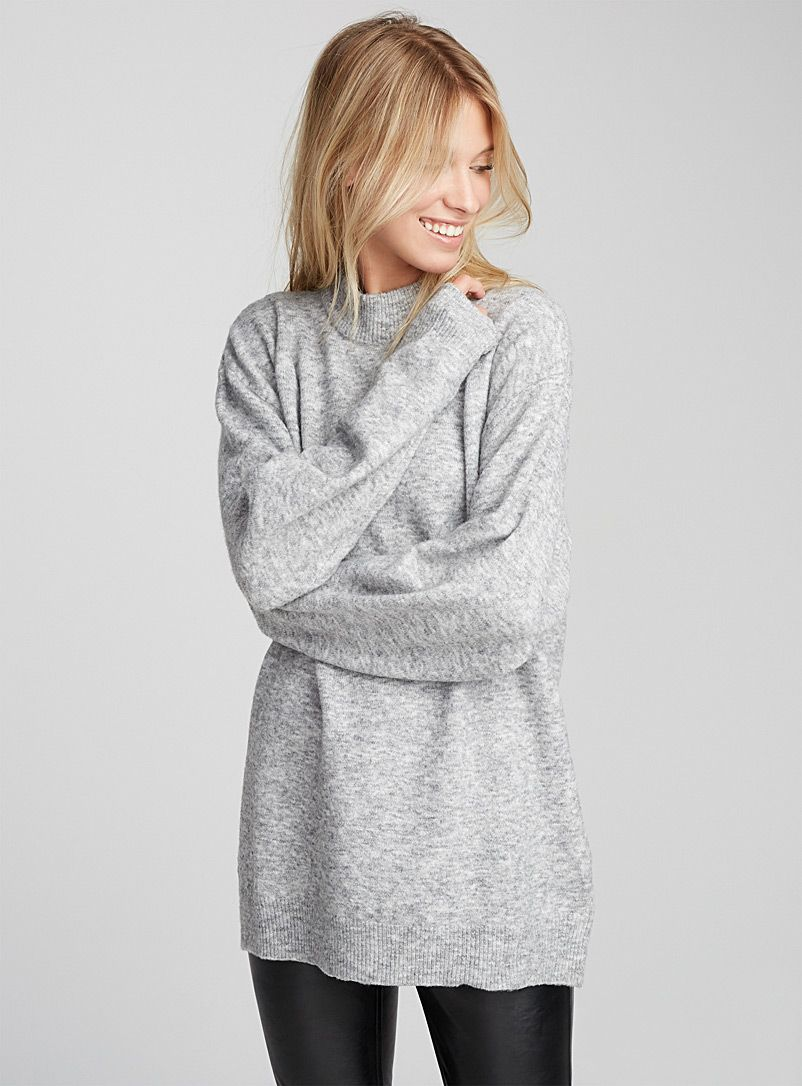 Wool-blend mock neck top | Cheap Monday | Shop Women's Sweaters ...