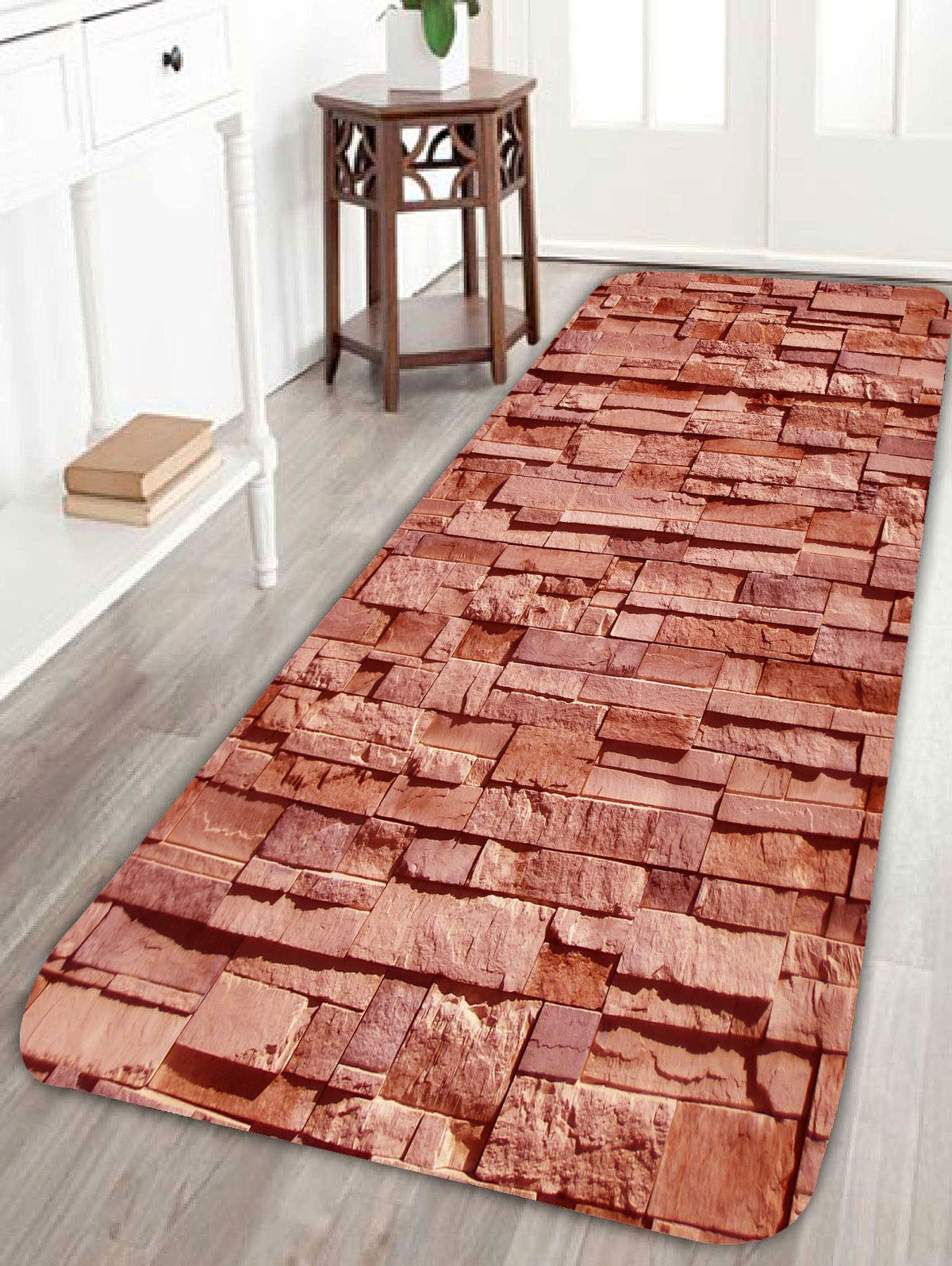 Brick Pattern Extra Large Home Entrance Area Rug Home Decor