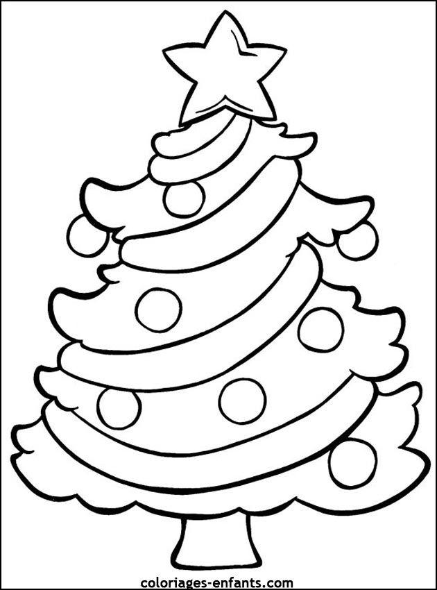 Coloriage de Noël à imprimer sur coloriages enfants.| Dessin