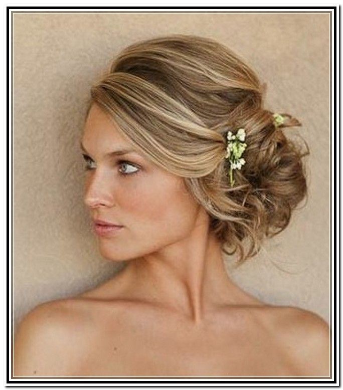 Side Swept Hairstyles For Weddings: Side Swept Updo Short Hair Download Page