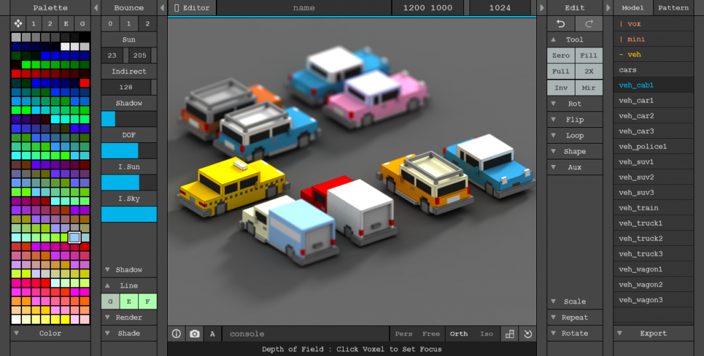 MagicaVoxel - Home | Free 3D Modeling Softwares in 2019 | Pixel art