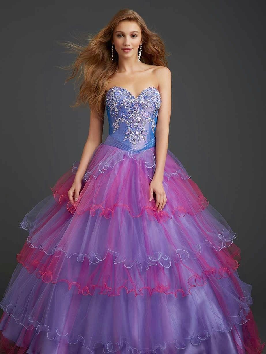 Asombrosos vestidos de 15 años modernos | Moda 2014 | XV ...