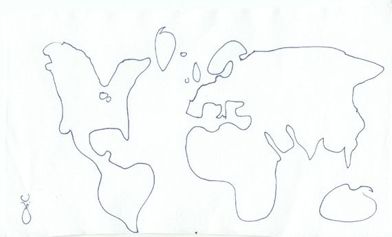 What you get when 30 people draw a world map from memory people what you get when 30 people draw a world map from memory gumiabroncs Image collections