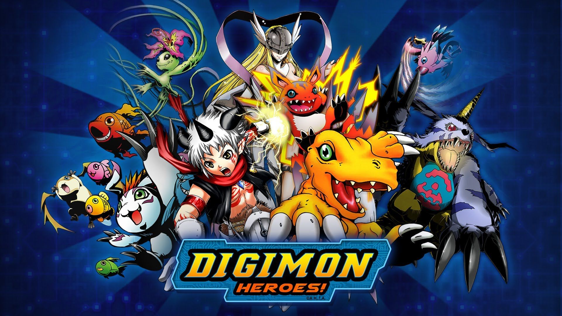 Digimon Heroes (Android/IOS) Gameplay HD 2016 (BANDAI