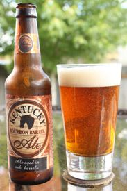 Kentucky Bourbon Barrel Ale---You have to   drink about 6 oz, then it will be one of your favorites.