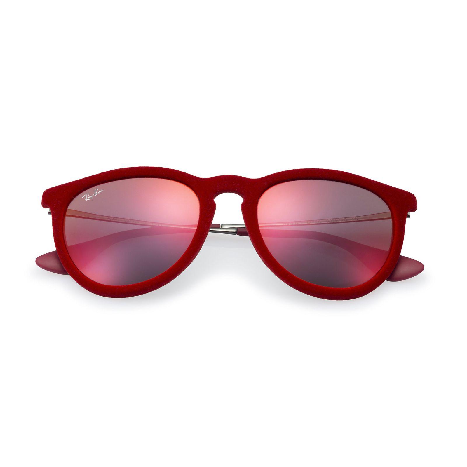 9a4761d814a43 Óculos De Sol Ray-Ban Erika Veludo RB4171 Vermelho - Marca Ray-Ban ...