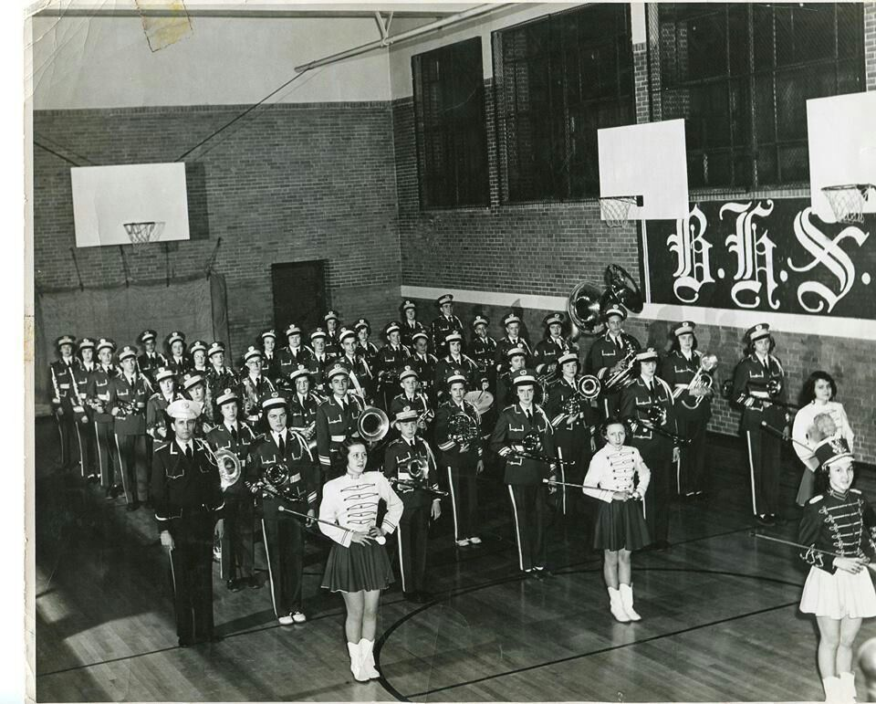 Bhs marching band 1949 marching band nostalgia band