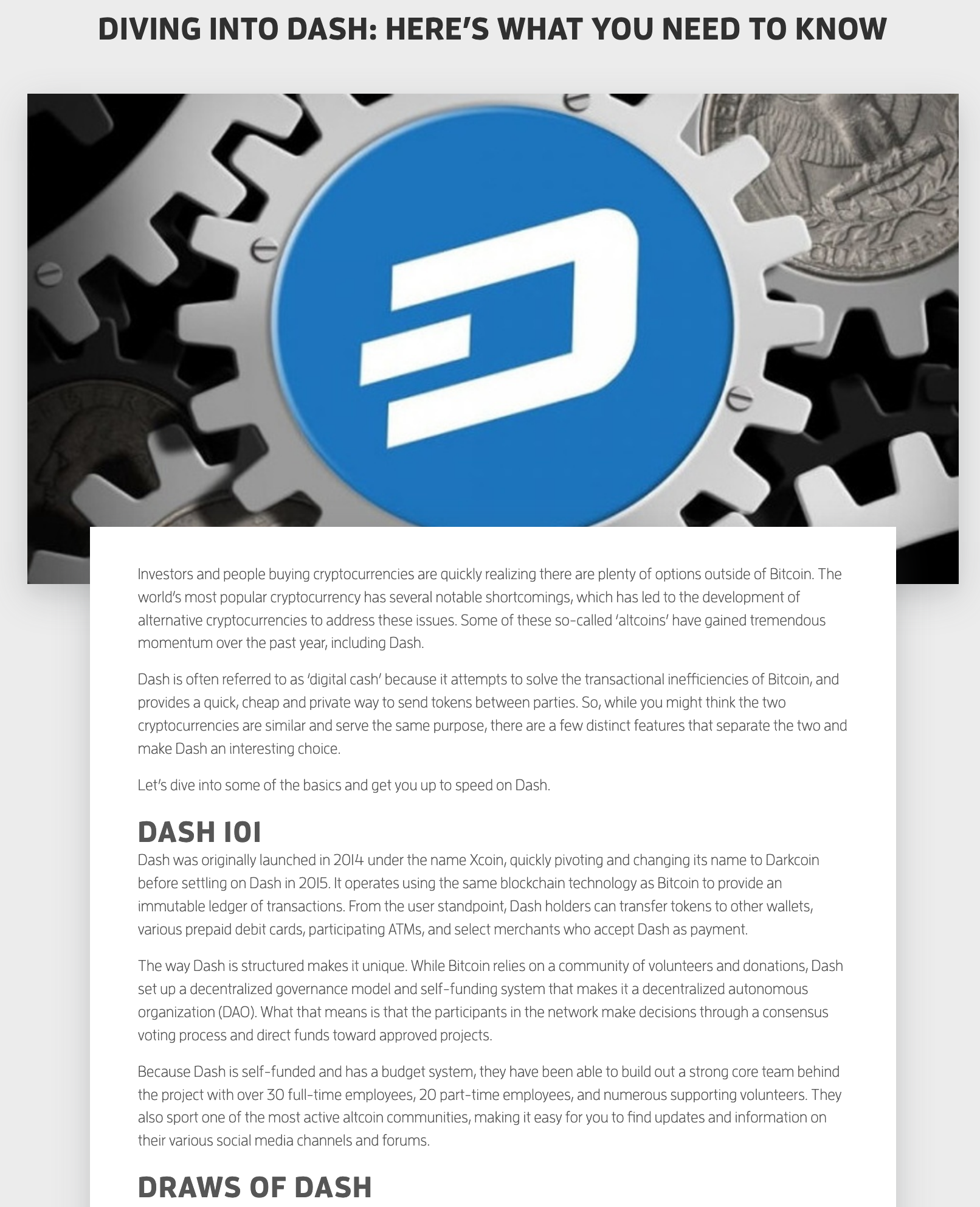 how to earn dividends with dash cryptocurrency