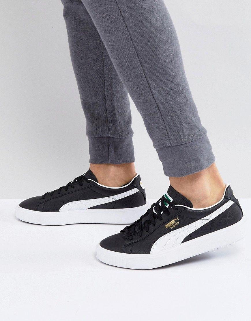 c48aa87a60e984 Herren Puma Breaker e Leder-Sneaker