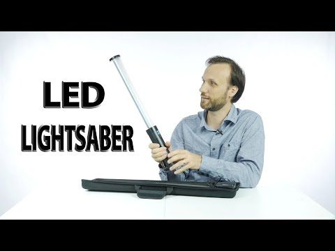 LED Lightsaber - YouTube
