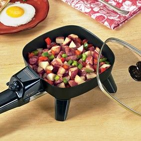 Mini Electric Skillet @ Fresh Finds--this is great for people who live alone or just 2 people to cook for.