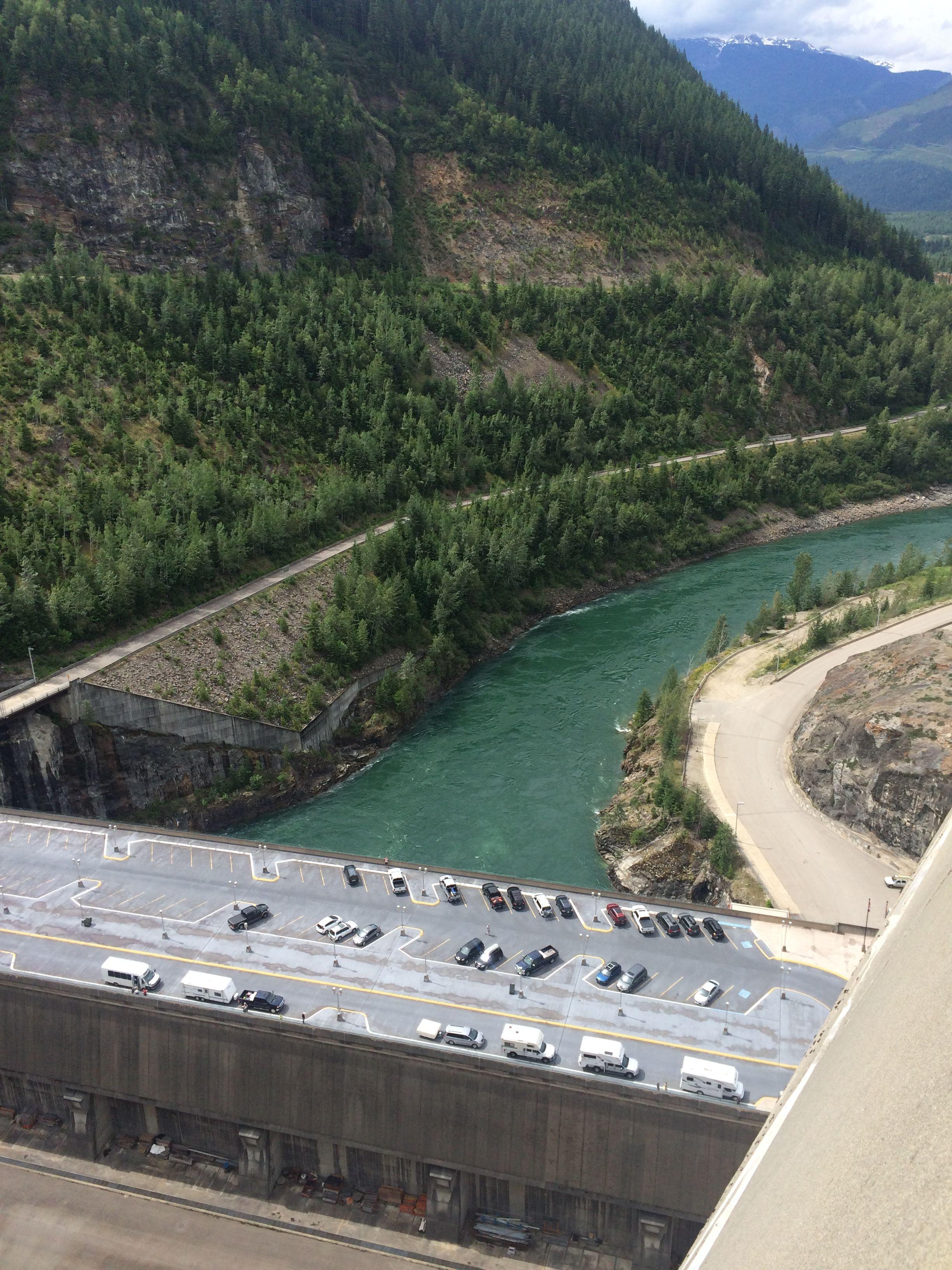 Revelstoke BC Hydro Dam - Columbia River | Canada * BC