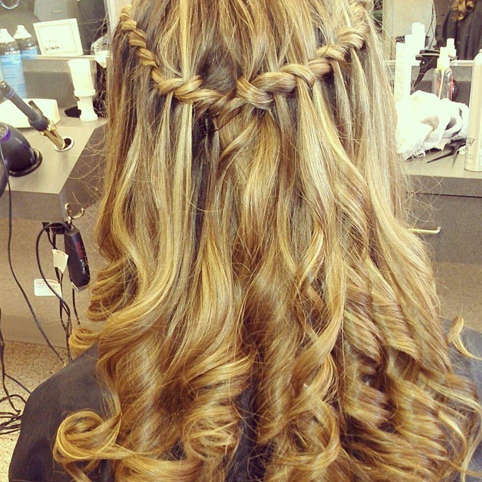 My hair for my th grade formal peinados pinterest formal