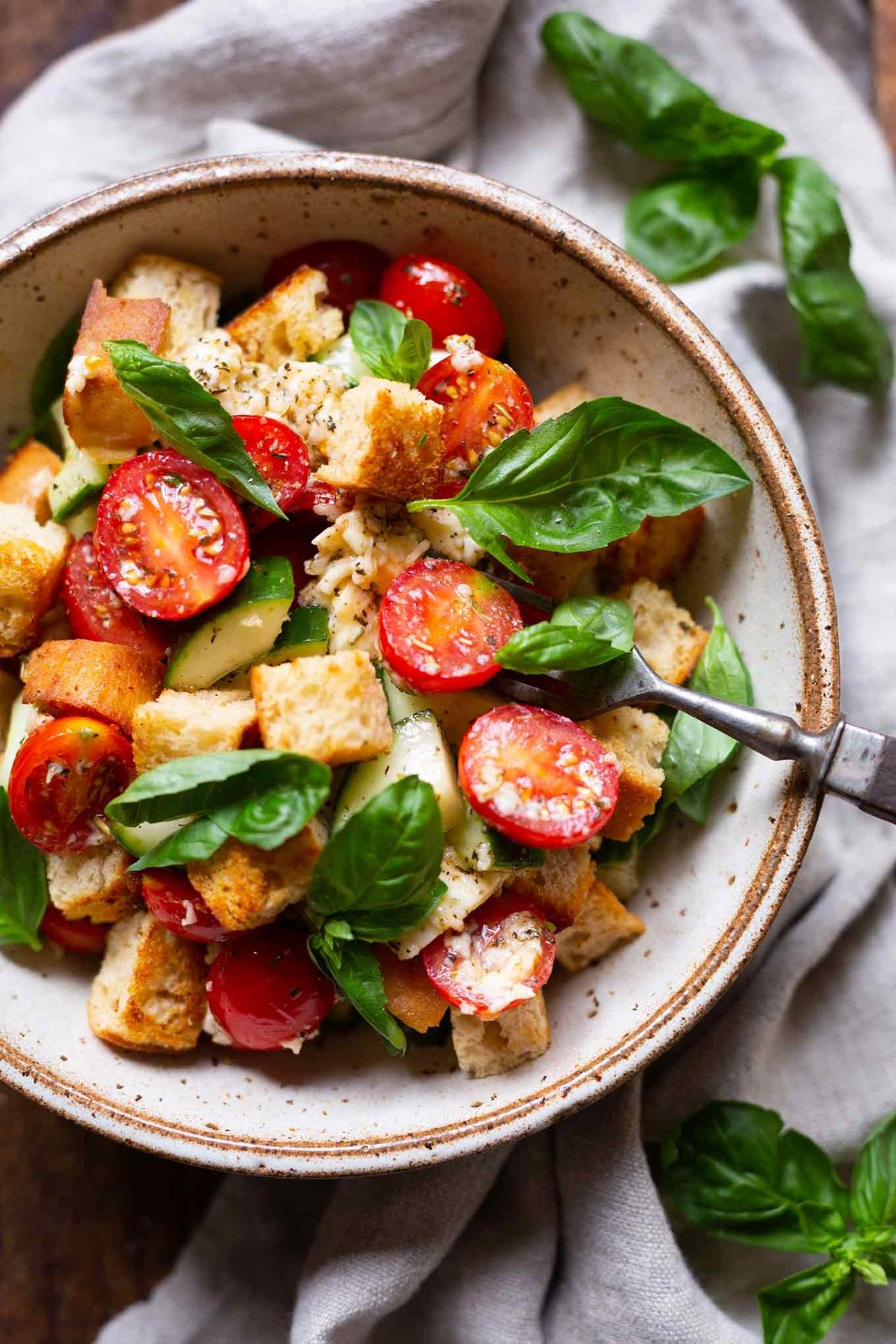 Photo of Panzanella – simple 30-minute bread salad – cooking carousel