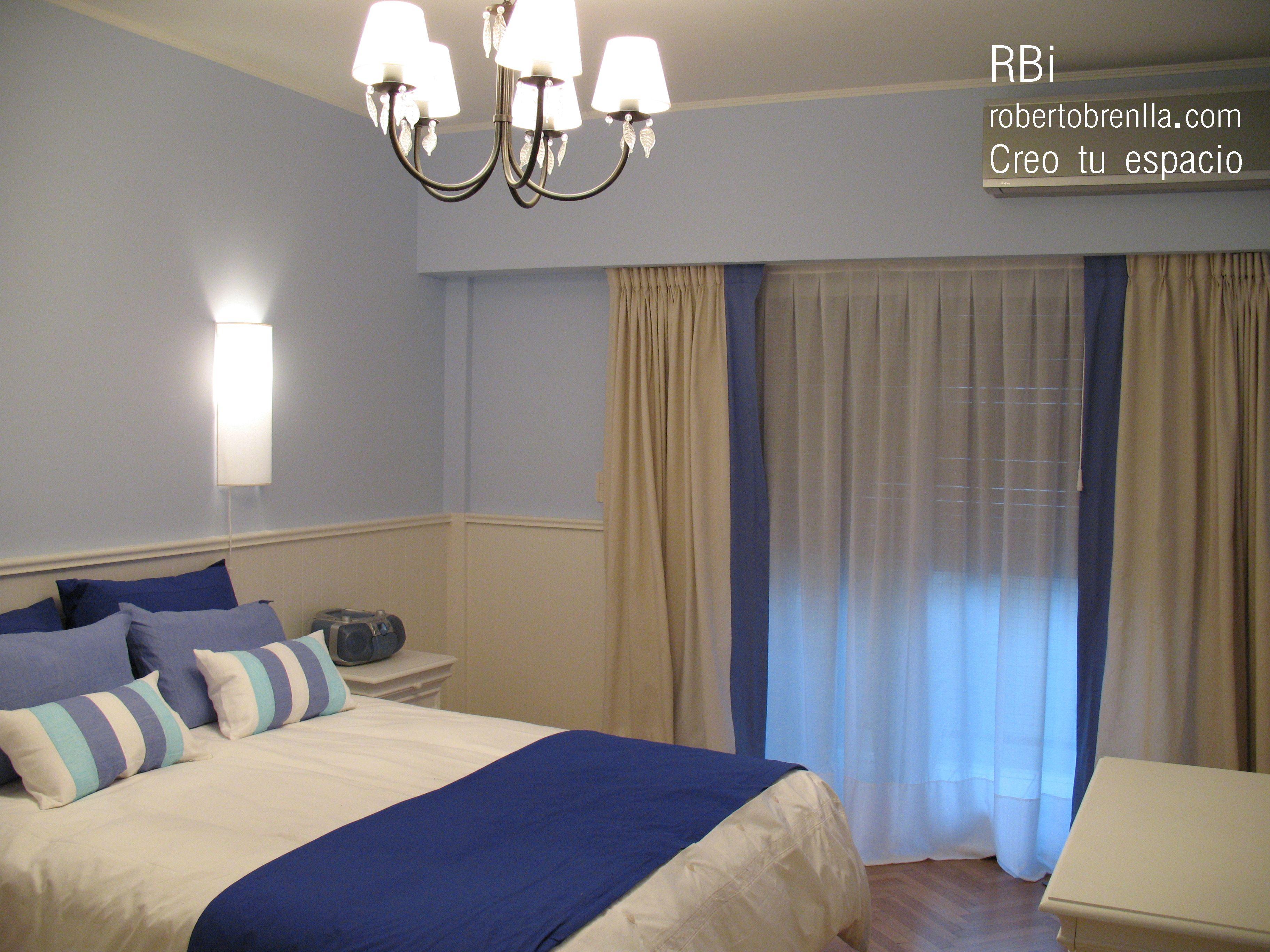 Dormitorio de huespedes en un dpto en Palermo