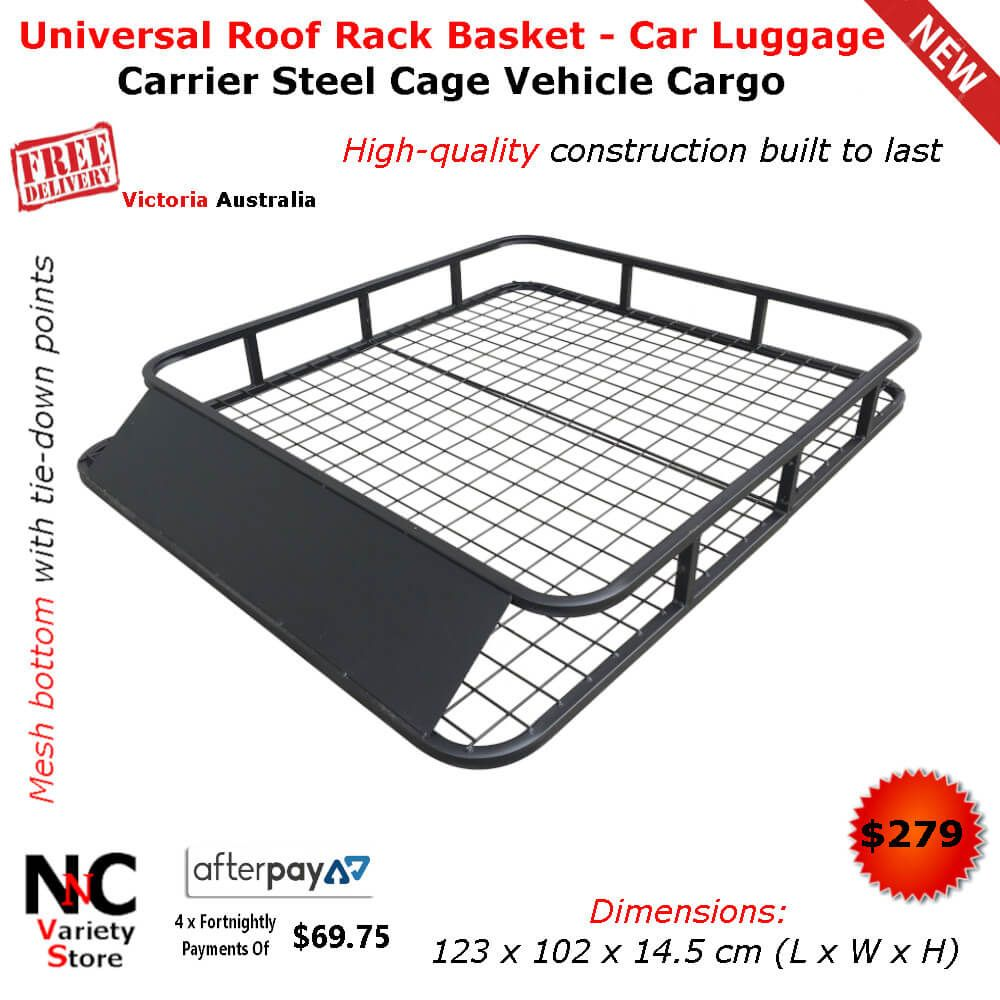Universal Roof Rack Basket Car Luggage Carrier Steel Cage Vehicle Cargo Car Luggage Carrier Luggage Carrier Roof Rack