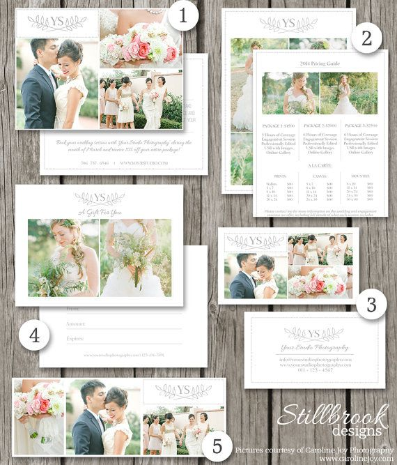 Photography Marketing Set - Print Marketing Template Suite - marketing timeline template