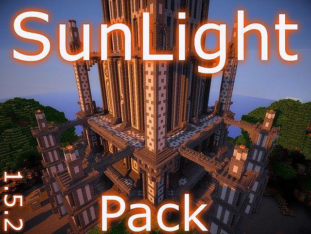 Sun Light Texture Pack 1 7 2 1 6 4 Minecraft Eon Light Texture Texture Packs Minecraft