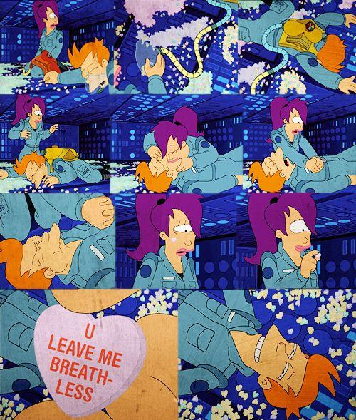 U Leave Me Breathless Futurama Quote Love This Episode TV And Unique Futurama Valentines Day Quote