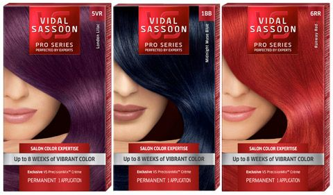 Up To 8 Weeks Of Fashionably Bold Salon Vibrant Hair Color Vs London Luxe Collection Vidal Soon