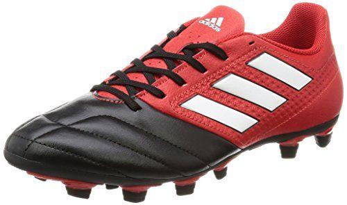 adidas Unisex-Kinder Ace 17.4 Fxg J Futsalschuhe, UK, Rot (Red/FTWR White/Core Black), 34 EU