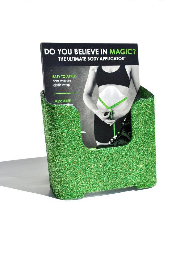 Lime Green blitz card holder. Glitter. Bling. Lime Green. Sparkly ...
