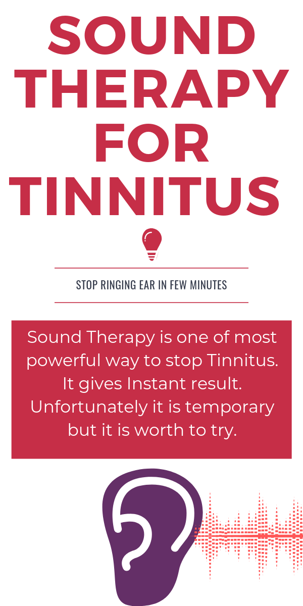 Sound Therapy For Tinnitus Stop Rining Ear