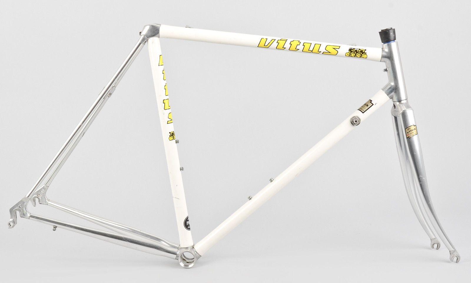 vintage vitus 979 duraluminum road bike frame set 54cm 700c france ebay