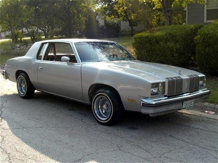 1979 Oldsmobile Cutlass Supreme  We had one like this