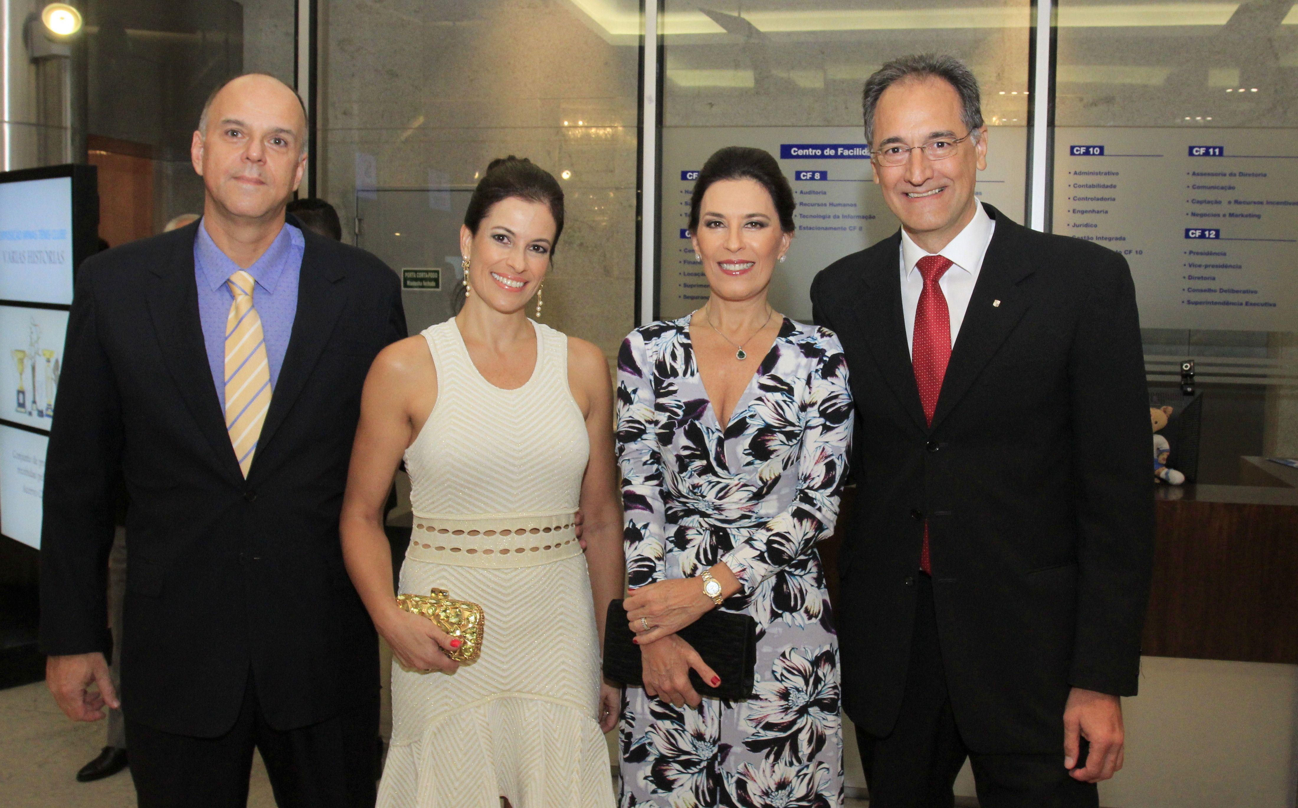 Paulo Emilio e Carolina Carreiro, Patricia e Gustavo Lage