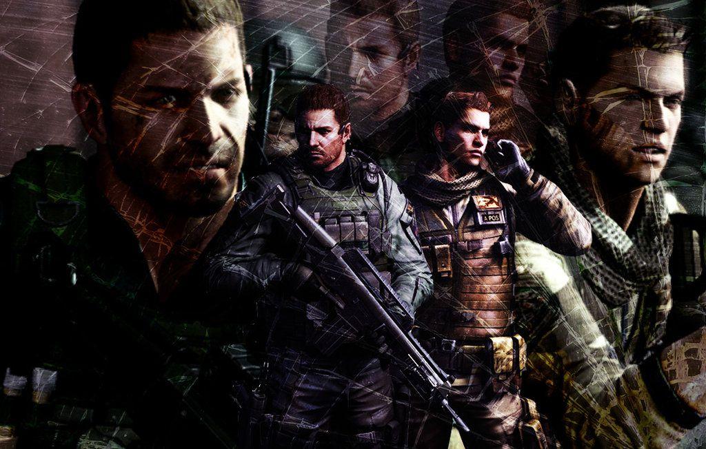 Resident Evil 6 Chris Redfield And Piers Nivans Resident