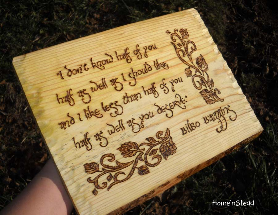 Captivating Bilbo Baggins Quote, Hobbit Wall Hanging, Fan Gift Lord Of The Rings Sign  Plaque LOTR. Desktop ...