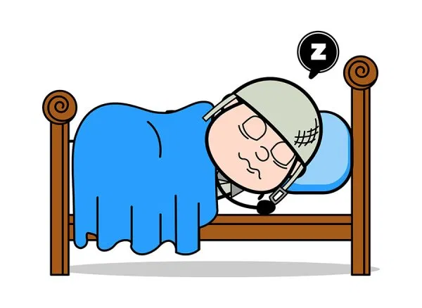Sleeping Army Man Cartoon Soldier Vector Illustration Free Download Cartoon Clip Art Cartoons Vector Free Cartoon Clipart