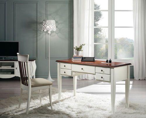 Scrivania In Legno Bianco : Tavolo vetro bianco ispiratore scrivania legno bianco mobili e