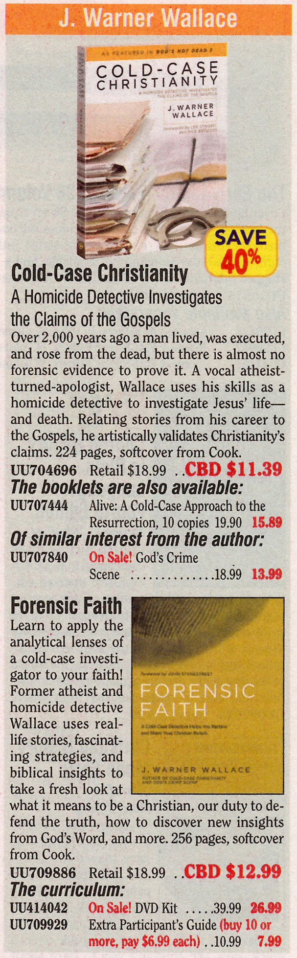 Pin by J. Warner Wallace on Cold Case Christianity Cold