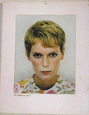 Mia Farrow. Rosemary's Baby