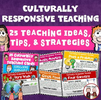 Here Are 25 Culturally Relevant Teaching Activity Cards That Will Help You Engage And Involve All Students In Your Teaching Activities Activity Cards Teaching