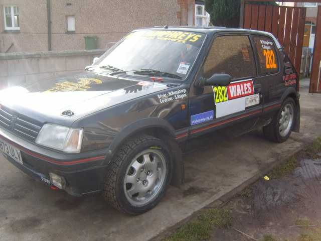 Peugeot 205 GTi 1.9 forest rally car everything new last year and in ...