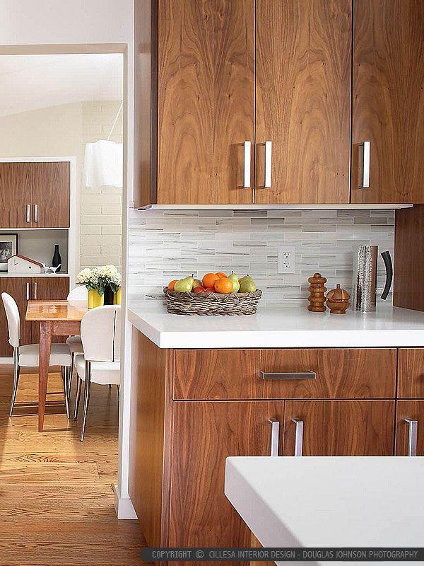 Ba1034 White Gray Tones Modern Marble Subway Kitchen Backsplash